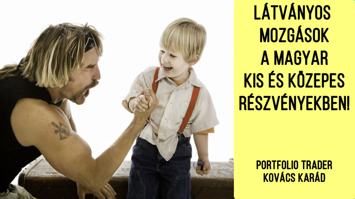 Látványos mozgások a magyar kispapírokban